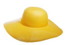 De hoed van het stro Stock Afbeeldingen