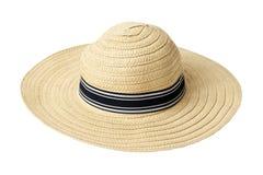 De hoed van het stro Stock Fotografie