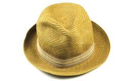 De hoed van het Stro van Panama stock afbeelding