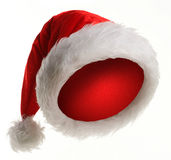 De hoed van Kerstmis royalty-vrije stock afbeelding