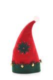 De hoed van Kerstmis royalty-vrije stock afbeeldingen