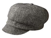 De hoed van de manier die op witte achtergrond wordt geïsoleerdt gekleurde hoed Royalty-vrije Stock Fotografie