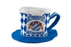 De hoed van Oktoberfest Stock Afbeeldingen