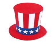De hoed van oom Sam Stock Fotografie