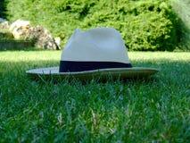 De hoed van Panama Royalty-vrije Stock Afbeeldingen