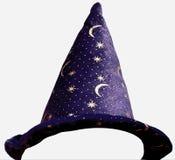 De hoed van tovenaars Stock Afbeeldingen
