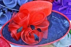 De hoed van vrouwen Stock Afbeeldingen