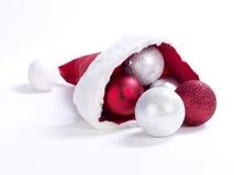 De hoed XXL van Christmass Stock Foto's