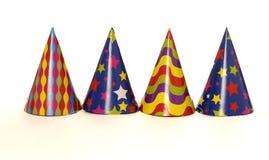 De hoeden van de partij Stock Afbeelding
