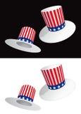 De hoeden van de V.S. Stock Afbeeldingen