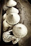 De hoeden van het stro Royalty-vrije Stock Foto