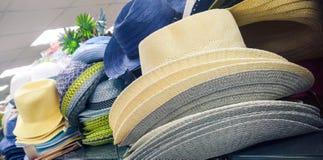 De hoeden van Stetson stock foto's