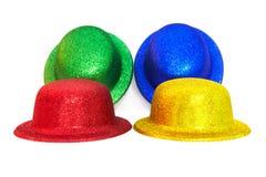 De hoeden van Varicoloured Royalty-vrije Stock Fotografie