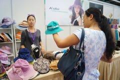 De Hoeden van vrouwen voor Verkoop Royalty-vrije Stock Afbeeldingen