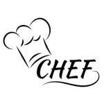 De Hoedencook van de chef-kok illustratie eps 10 royalty-vrije illustratie