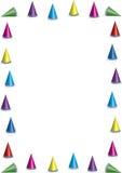 De hoedengrens van de partij Royalty-vrije Stock Afbeeldingen