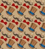 De hoedenvlinderdas van de monoclesnor Stock Fotografie