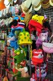 De hoedenwinkel van de handambacht Stock Afbeeldingen