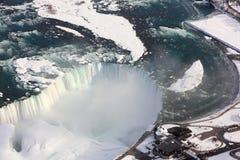 De Hoefijzerdalingen van Niagara Royalty-vrije Stock Afbeeldingen
