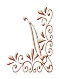 De hoek kleurt designe Royalty-vrije Stock Foto
