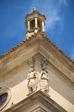 De hoek van beeldhouwwerken Royalty-vrije Stock Afbeeldingen