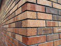 De hoek van de baksteen Stock Fotografie
