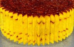 De hoek van de cake Royalty-vrije Stock Foto