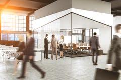De hoek van de conferentieruimte, mensen Royalty-vrije Stock Afbeelding
