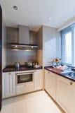 De hoek van de keuken royalty-vrije stock fotografie