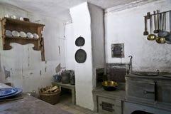 De hoek van de keuken stock fotografie