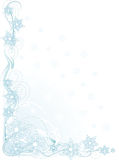 De Hoek van de sneeuwvlok vector illustratie