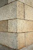 De hoek van de steen Stock Afbeelding