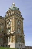 De Hoek van het Capitool van de Staat van Iowa stock foto