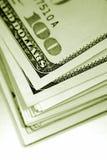 De hoek van het contante geld Stock Afbeeldingen