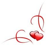 De hoek van het hart Royalty-vrije Stock Afbeelding