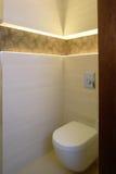 De hoek van het toilet Royalty-vrije Stock Foto's