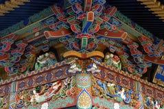 De hoek van het Zuihodenmausoleum Royalty-vrije Stock Foto's