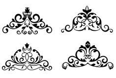 De hoeken van de bloem Royalty-vrije Stock Afbeeldingen