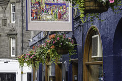 De hoekmening van Edinburgh royalty-vrije stock foto's