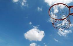 De Hoepel van het basketbal Royalty-vrije Stock Foto's