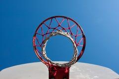 De hoepel van het basketbal Royalty-vrije Stock Afbeeldingen