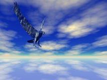 De hoge Adelaar van de Hemel stock illustratie