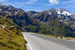 De Hoge Alpiene Weg van Grossglockner Stock Afbeelding