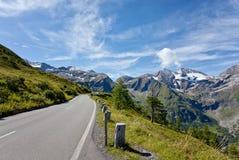 De Hoge Alpiene Weg van Grossglockner Royalty-vrije Stock Fotografie