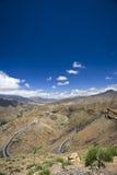 De hoge Bergen van de Atlas stock foto