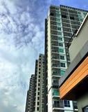 De hoge bouw Stock Afbeeldingen
