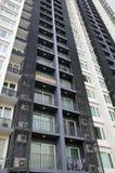 De hoge Bouw van het Flatgebouw met koopflats van de Stijging Royalty-vrije Stock Fotografie