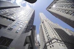 De hoge bouw van het stijgingsbureau Stock Fotografie