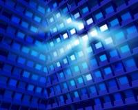 De hoge bouw Vector illustratie Stock Afbeelding