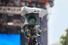 De hoge camera van de definitiebioskoop royalty-vrije stock afbeeldingen